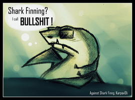 Shark Finning is BULLSHIT by karpfinchen