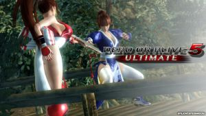Kasumi Vs Mai by EnlightendShadow