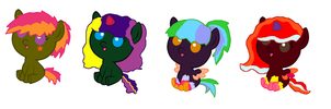 Free Rave pony foal adopts! by star4567980