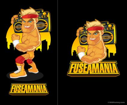 Mascot Design for Fuseamania by SOSFactory