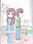 Erin and Eileen Mayal Story by mamoru14