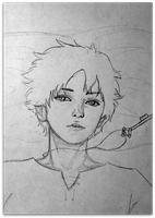Eren WIP by oli-octopus