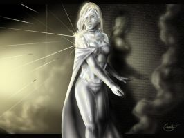 Emma Frost by Shafcrawler