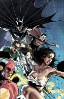 Justice League version 2 by benttibisson