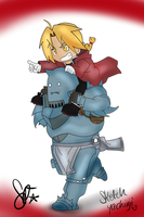FMA: Edward and Al by SEGAgal