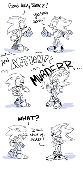 What Shadow does to get himself into character by Gigi-D