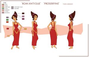 Proserpine model-sheet by Sedjin