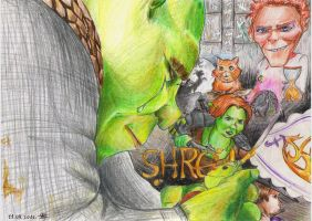 Shrek Forever After by Mariya14
