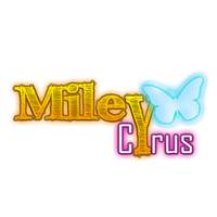 texto PNG miley cyrus by AnnieSerrano