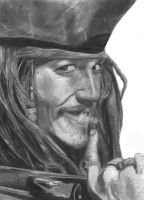 Jack Sparrow by guilemo