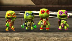Little Big Planet TMNT by Canovoy