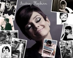 Wallpaper Audrey Hepburn by justatime