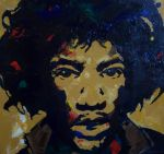 hendrix large by markcrossey