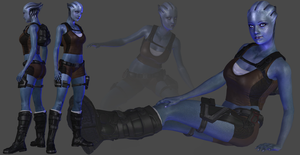 Liara Croft DL by TheRaiderInside