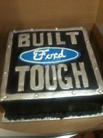 'Built Tough' Grooms' Cake by theSugarmonger
