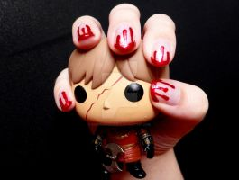 Friday the 13th Bloody Nail Tutorial by RubyReminiscence