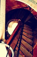 Lighthouse staircase by Deathsdoor-inc