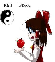 that really is a Bad Apple by killerplatypus