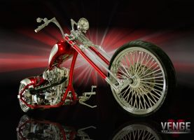red chopper by VENGEMEDIA