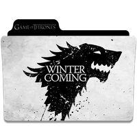 Game of Thrones Folder Icon by efest