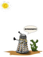 Dalek Refrigerate Commission by Immobliss
