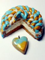 Blue Cake by sississweets
