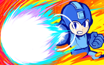 Mega Man | Charge Shot by ishmam
