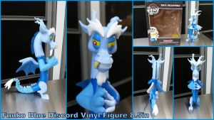 Funko Blue Discord Hot Topic Exclusive 8.5in by Vesperwolfy87