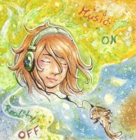 Music on - Reality off by Niellae