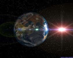 Fubus Ship headed at Earth by tim-au