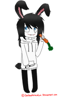 Bunny!Jeff The Killer by AllTheLittleWonders