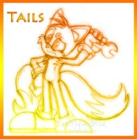 Tails Sketch 1 by FreeFlyingBird
