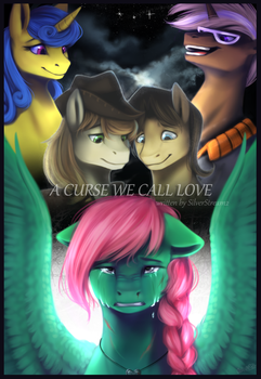 [Commission] Fanfic Cover- A Curse We Call Love by OblivionHeart13