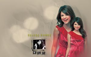 Selena Gomez wallpaper 01 by mikeygraphics
