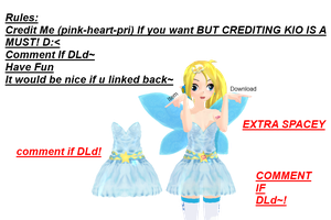 Cute blue dress Download~ by Pink-Heart-Pri