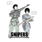 Cross-over: Snipers by SonicSNAKE