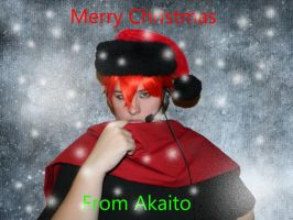 Merry Chirstmass form Akaito by Gaarassin