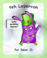 lepercon for Sean :P by Maligris