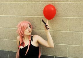 Mirai Nikki - Balloon by lameninja