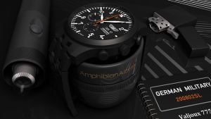German Military PVD Chrono-05 by VaultAvenger