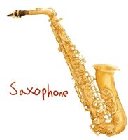 saxophone by d0-re-m1