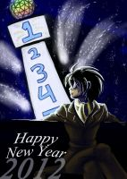 Happy New Year 2012 - Blues by digitallyfanged