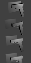2nd 3D Model: Glock 18 by PhiTuS