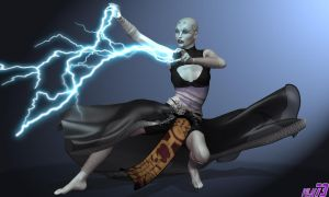 Asajj Ventress WIP 2 by WLN73