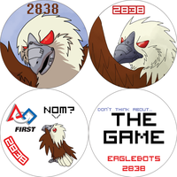 2011 EagleBots Buttons by TaoKyuubimon