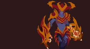 Shyvana Vector by DukeofDunkshire