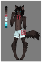 Adoptable auction 03 [anthro] -CLOSED by NauticalSparrow
