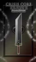 FFVII Broadsword - Buster Sword - CC Version by WeapondesignerDawe