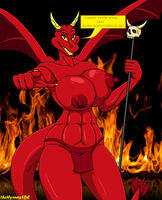 Hell Dragon by theHyenasSBE