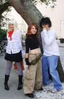 L, Misa, and... Kim Possible? by nooby-banana